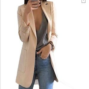 Beige/camel colored blazer